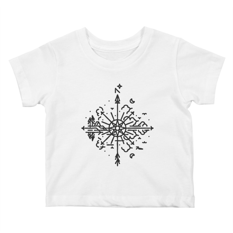 Outdoors Kids Baby T-Shirt by Joshua Gille's Artist Shop