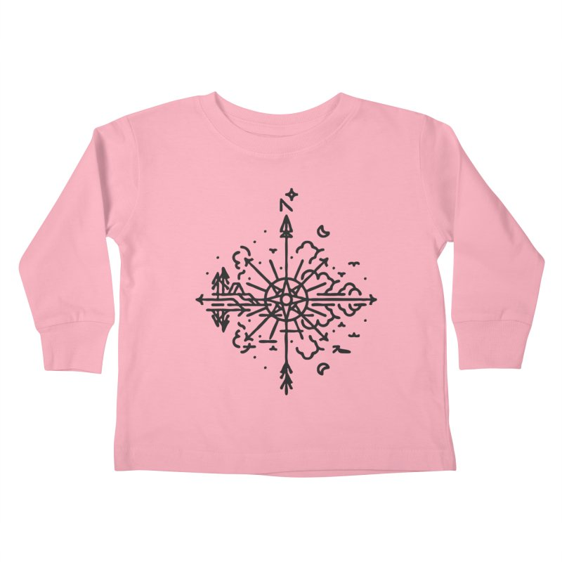 Outdoors Kids Toddler Longsleeve T-Shirt by Joshua Gille's Artist Shop
