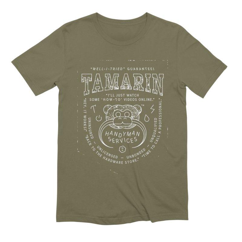 Tamarin Handyman Services Men's Extra Soft T-Shirt by Joshua Gille's Artist Shop