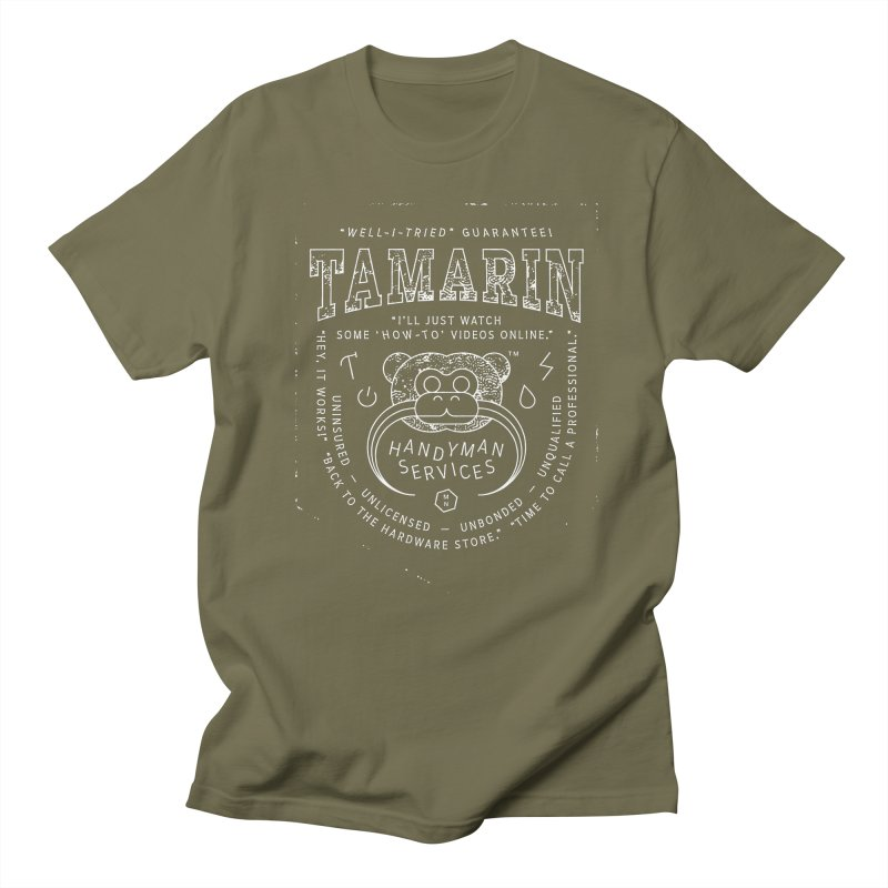 Tamarin Handyman Services Men's Regular T-Shirt by Joshua Gille's Artist Shop