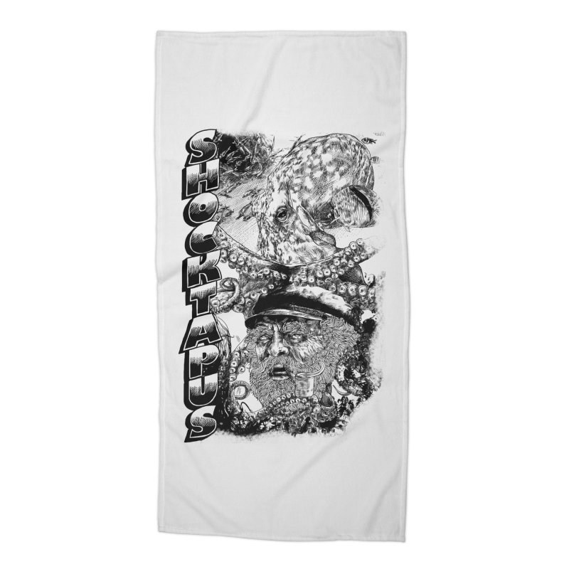 SHOCKTAPUS Accessories Beach Towel by Joshua Kemble's Shop