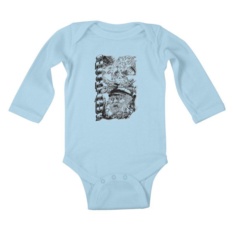 SHOCKTAPUS Kids Baby Longsleeve Bodysuit by Joshua Kemble's Shop