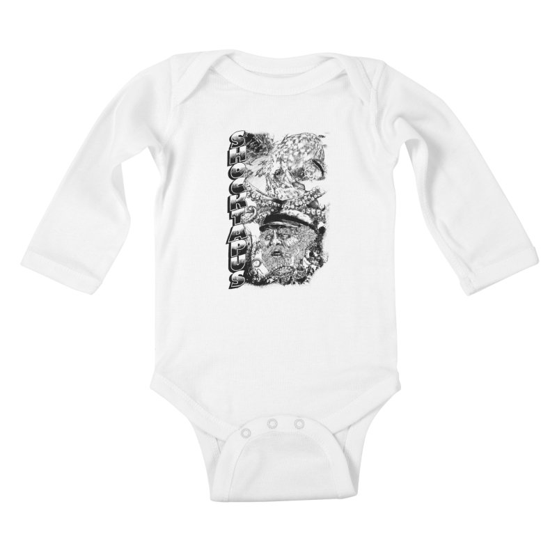 SHOCKTAPUS Kids Baby Longsleeve Bodysuit by Joshua Kemble's Shop