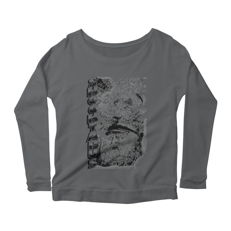 SHOCKTAPUS Women's Longsleeve Scoopneck  by Joshua Kemble's Shop