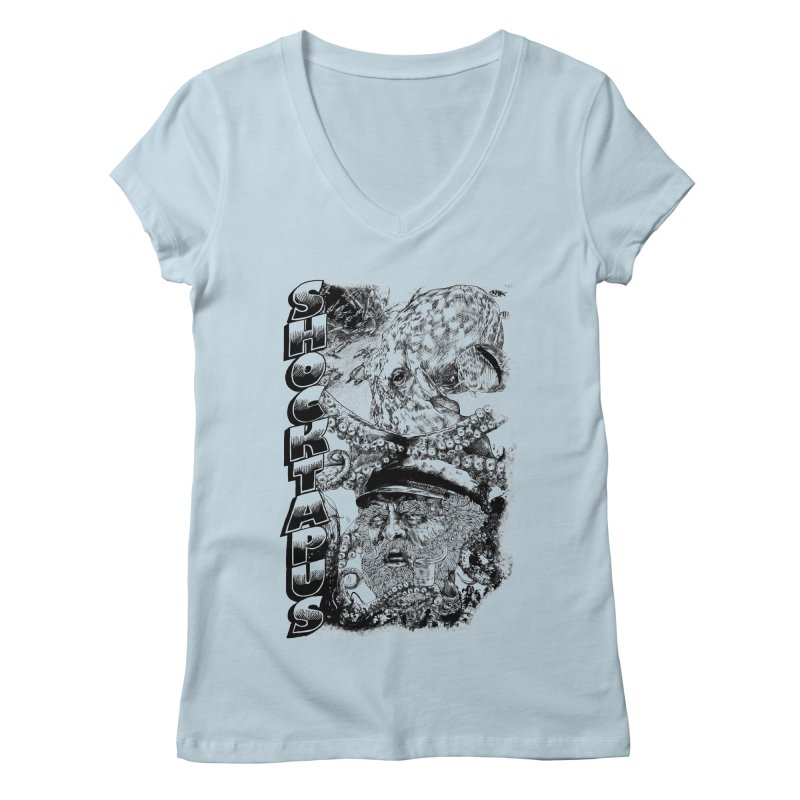 SHOCKTAPUS Women's V-Neck by Joshua Kemble's Shop