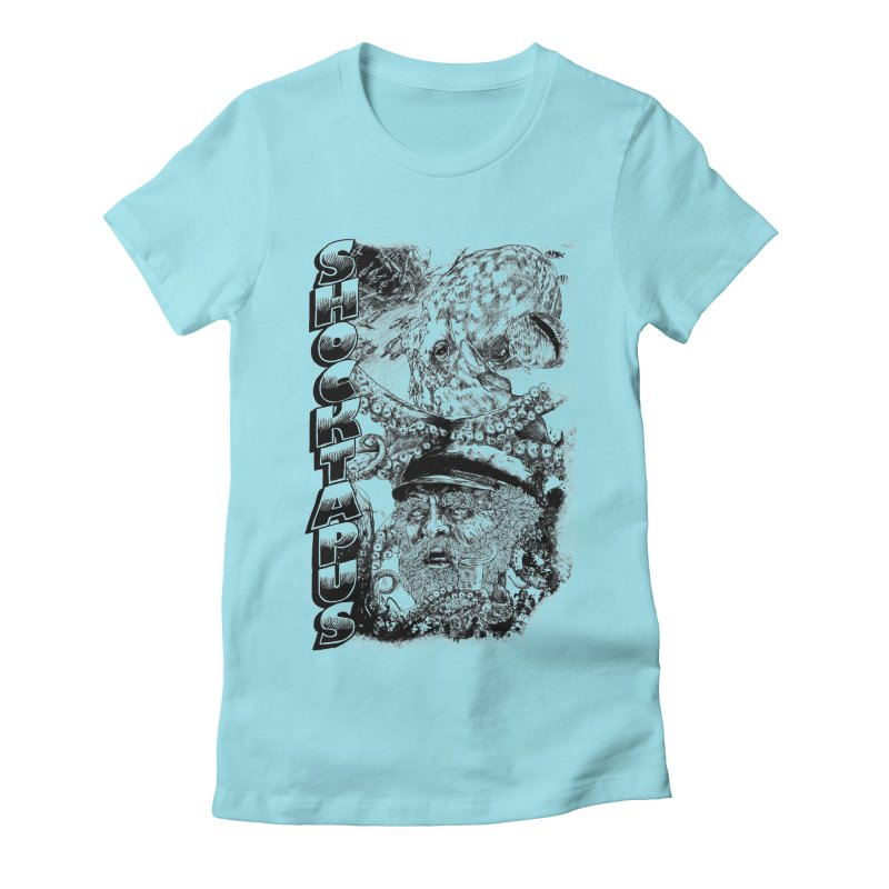 SHOCKTAPUS Women's Fitted T-Shirt by Joshua Kemble's Shop