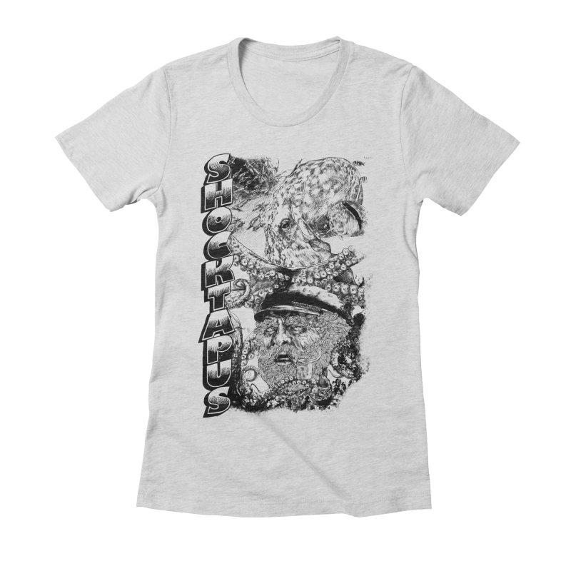 SHOCKTAPUS Women's Fitted T-Shirt by Joshua Kemble's Shop