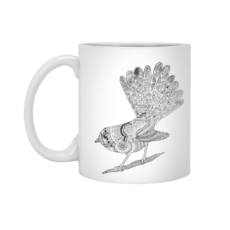 Paisley Fantail Accessories Mug by josmithcreative's Artist Shop