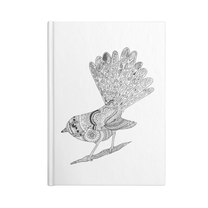 Paisley Fantail Accessories Notebook by josmithcreative's Artist Shop