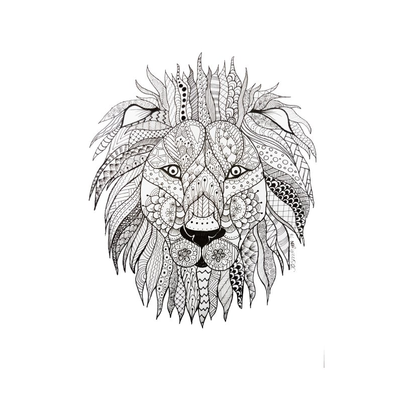 Paisley Lion None  by josmithcreative's Artist Shop