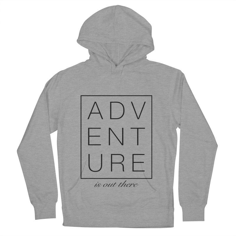 ADVENTURE // Black Men's Pullover Hoody by josmithcreative's Artist Shop