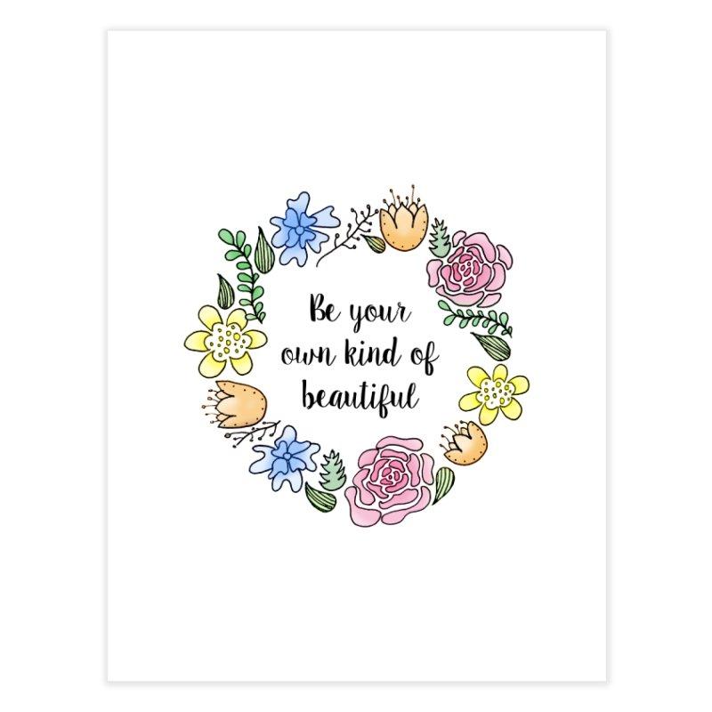 Flowers // Be Home Fine Art Print by josmithcreative's Artist Shop