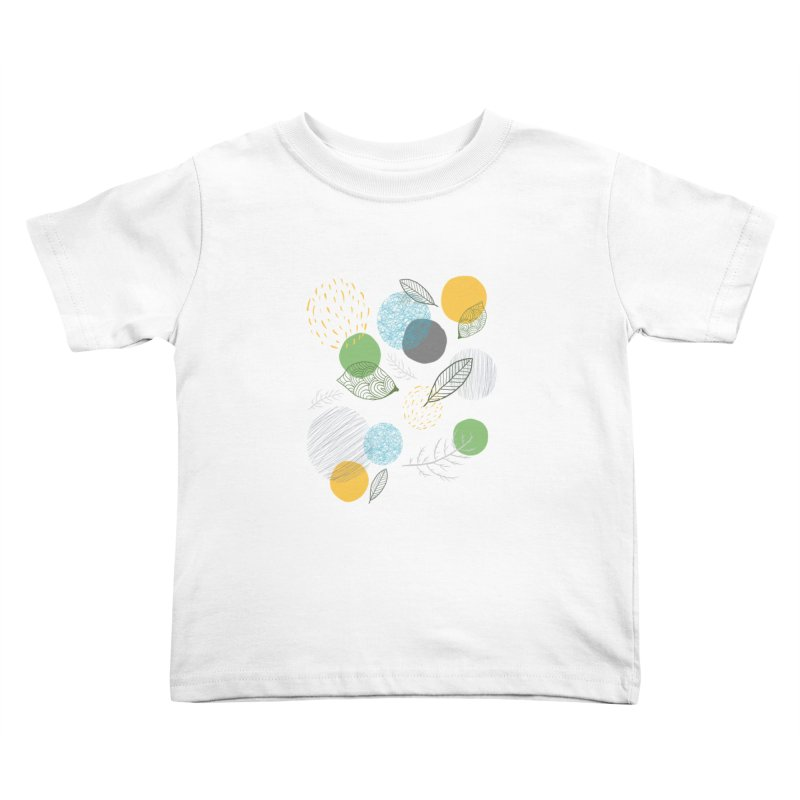NATURE // spots & leaves Kids Toddler T-Shirt by josmithcreative's Artist Shop