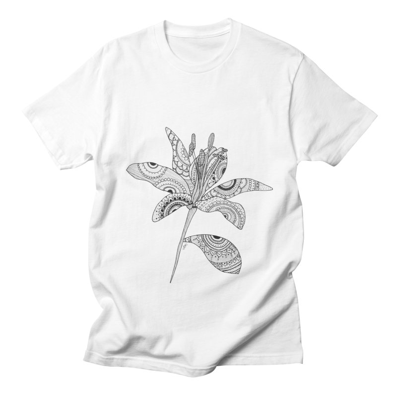 Paisley Flower // Lily Women's Unisex T-Shirt by josmithcreative's Artist Shop