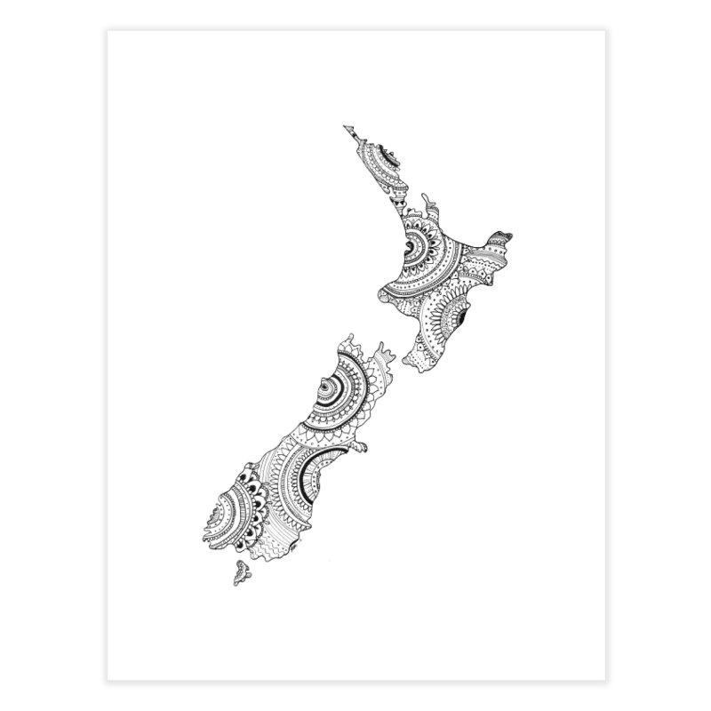 New Zealand Home Fine Art Print by josmithcreative's Artist Shop