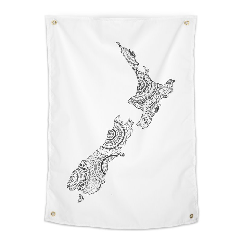 New Zealand Home Tapestry by josmithcreative's Artist Shop