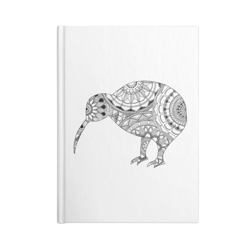 Kiwi // Mandala Accessories Notebook by josmithcreative's Artist Shop