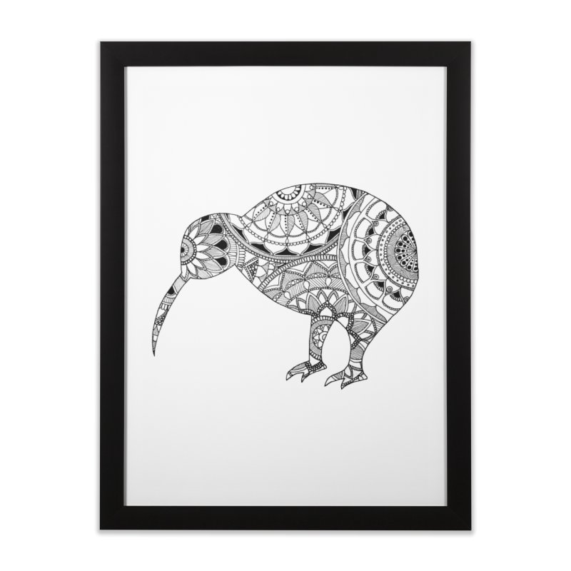 Kiwi // Mandala Home Framed Fine Art Print by josmithcreative's Artist Shop
