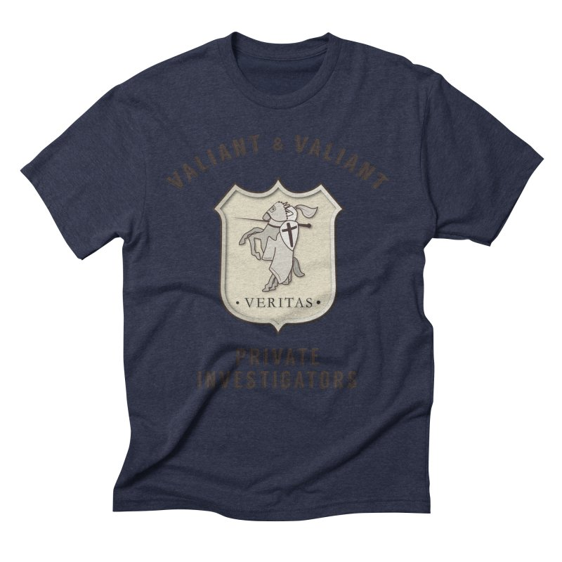 Valiant & Valiant Private Investigators Men's Triblend T-Shirt by josswilson's Artist Shop