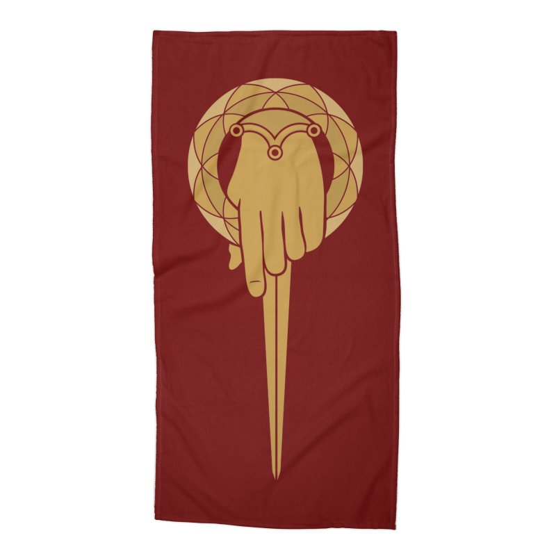 The Hand of the King Accessories Beach Towel by josswilson's Artist Shop