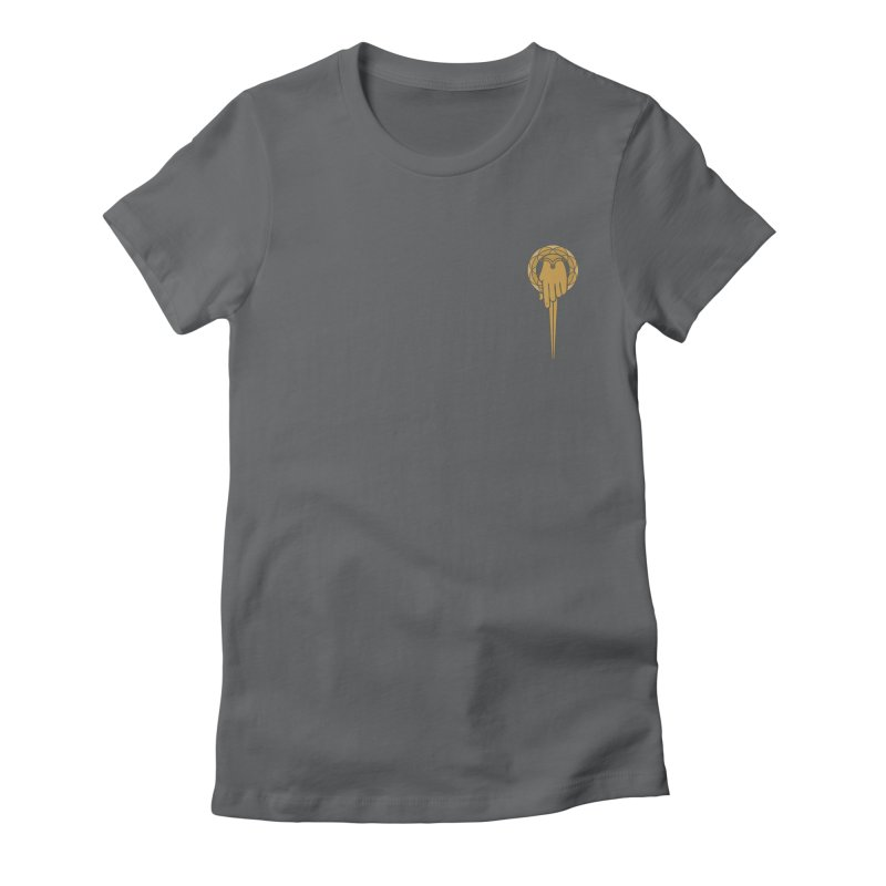 The Hand of the King Women's Fitted T-Shirt by josswilson's Artist Shop
