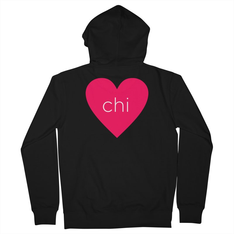 Chi Love Men's French Terry Zip-Up Hoody by Jost Sauer Chi Cycle Lifestyle