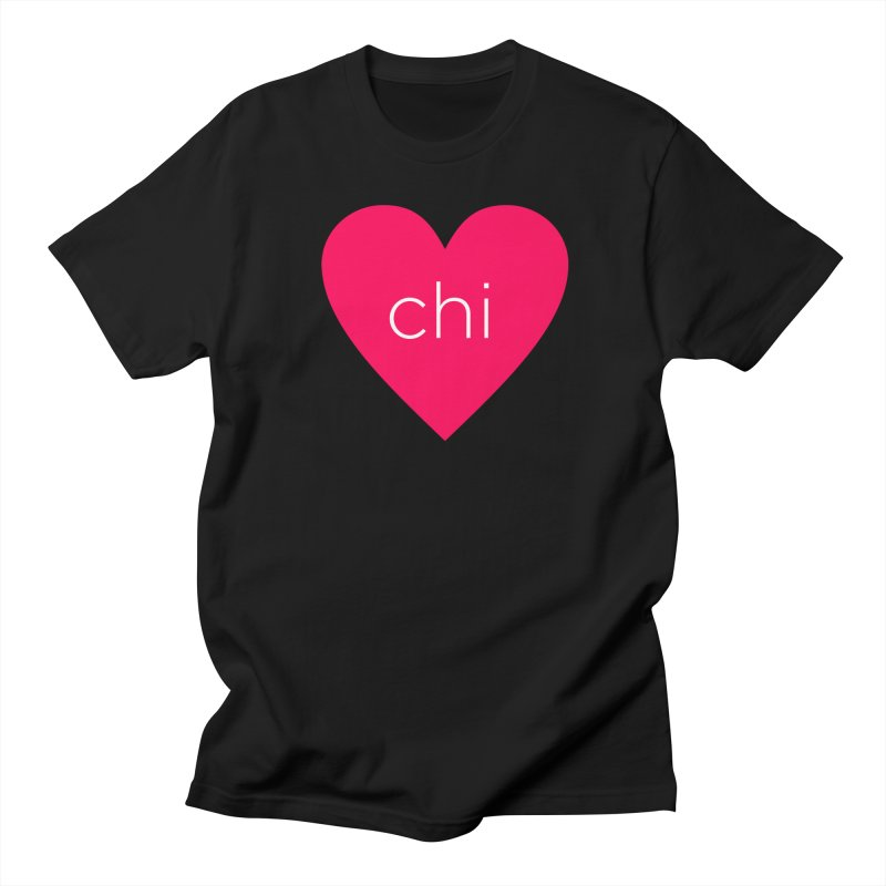 Chi Love in Men's Regular T-Shirt Black by Jost Sauer Chi Cycle Lifestyle