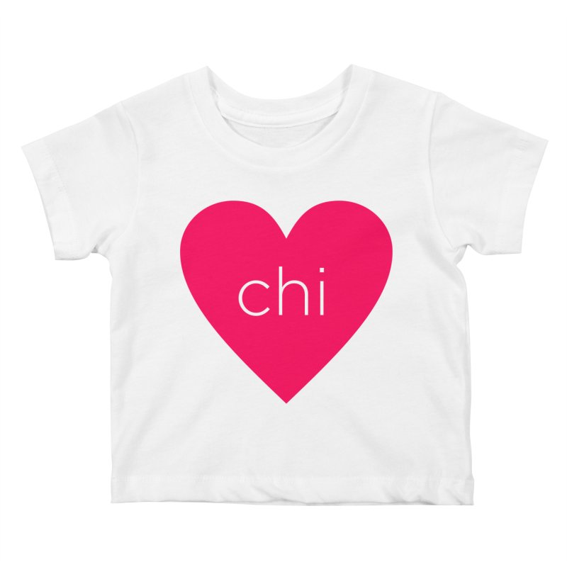 Chi Love Kids Baby T-Shirt by Jost Sauer Chi Cycle Lifestyle