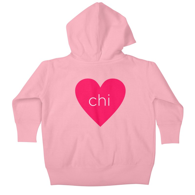Chi Love Kids Baby Zip-Up Hoody by Jost Sauer Chi Cycle Lifestyle
