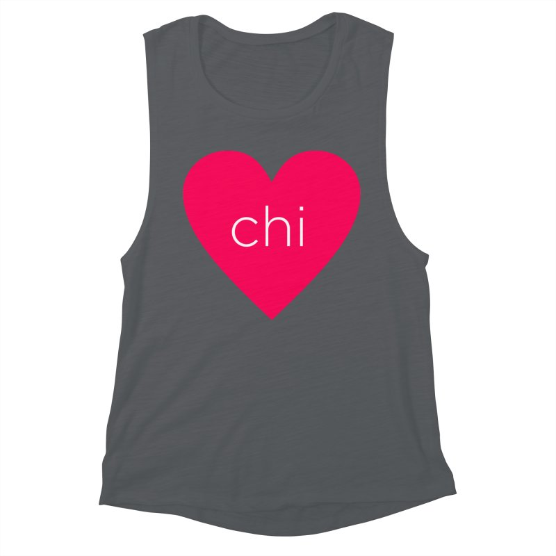 Chi Love Women's Muscle Tank by Jost Sauer Chi Cycle Lifestyle