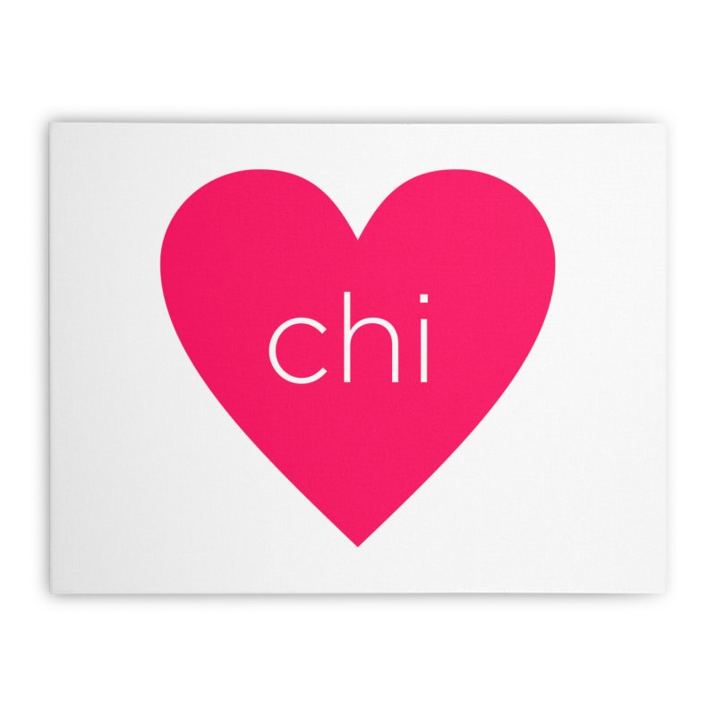 Chi Love Home Stretched Canvas by Jost Sauer Chi Cycle Lifestyle
