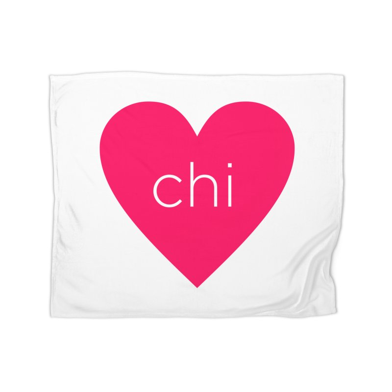 Chi Love Home Fleece Blanket Blanket by Jost Sauer Chi Cycle Lifestyle
