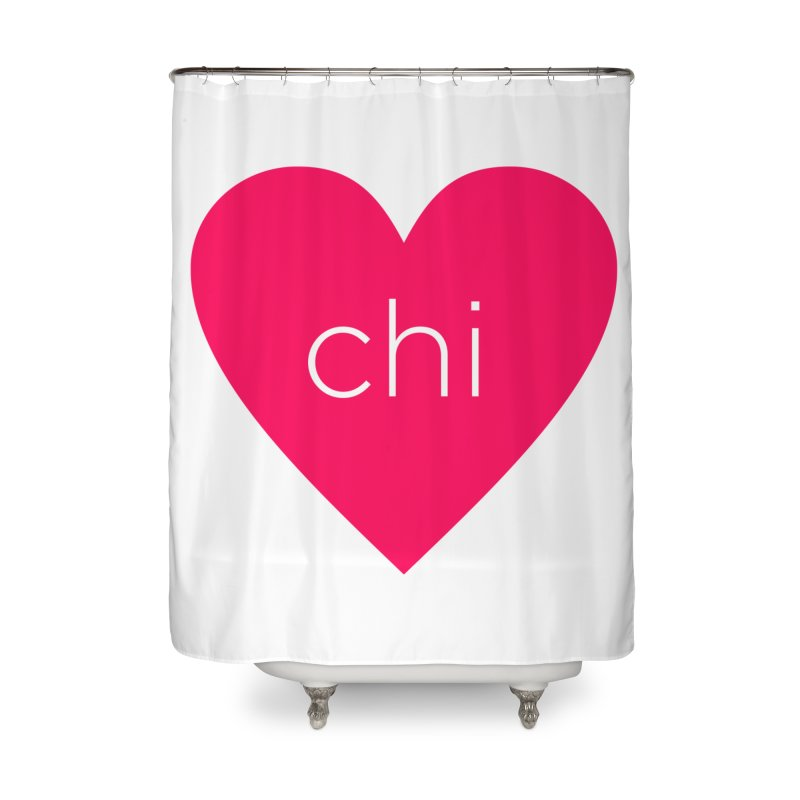 Chi Love Home Shower Curtain by Jost Sauer Chi Cycle Lifestyle