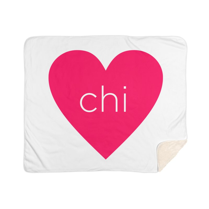 Chi Love Home Sherpa Blanket Blanket by Jost Sauer Chi Cycle Lifestyle