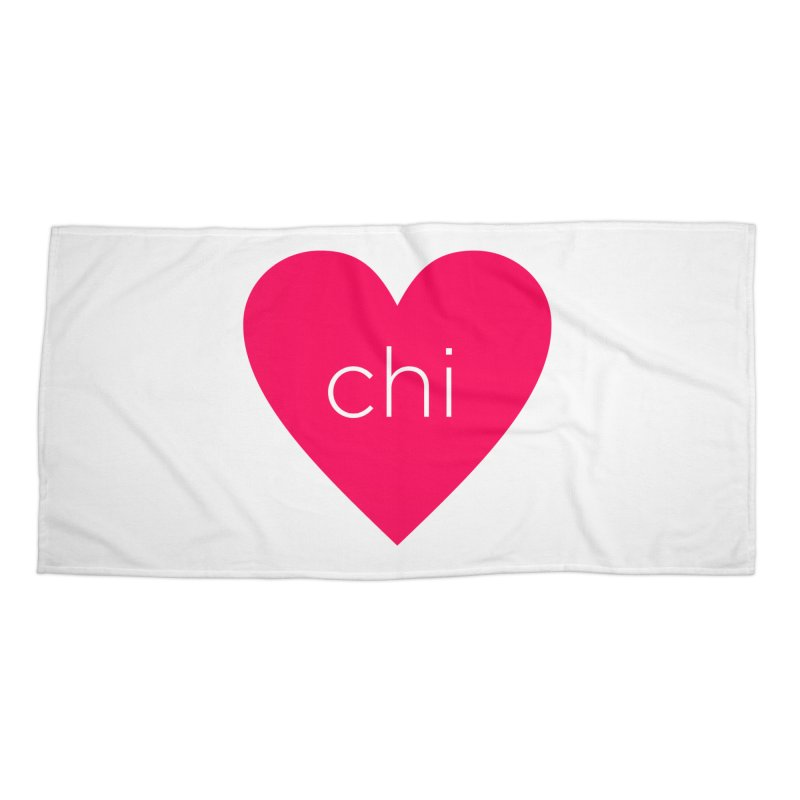 Chi Love Accessories Beach Towel by Jost Sauer Chi Cycle Lifestyle