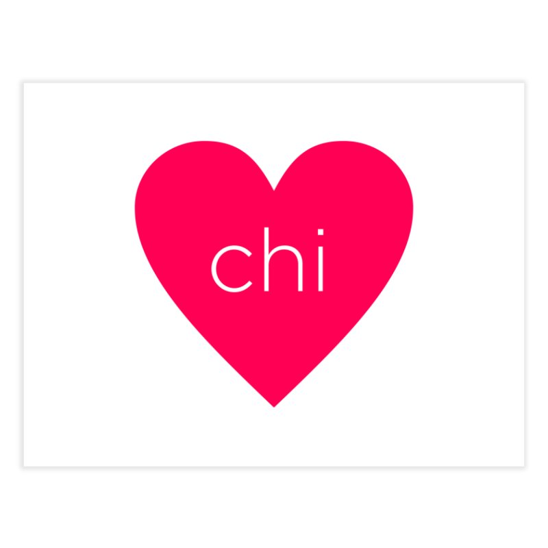 Chi Love Home Fine Art Print by Jost Sauer Chi Cycle Lifestyle