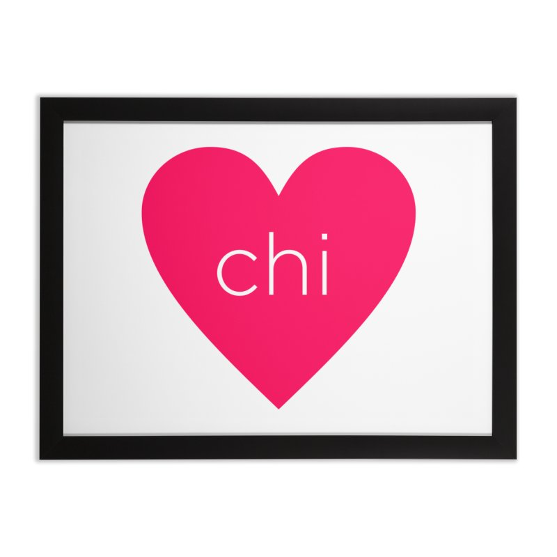 Chi Love Home Framed Fine Art Print by Jost Sauer Chi Cycle Lifestyle