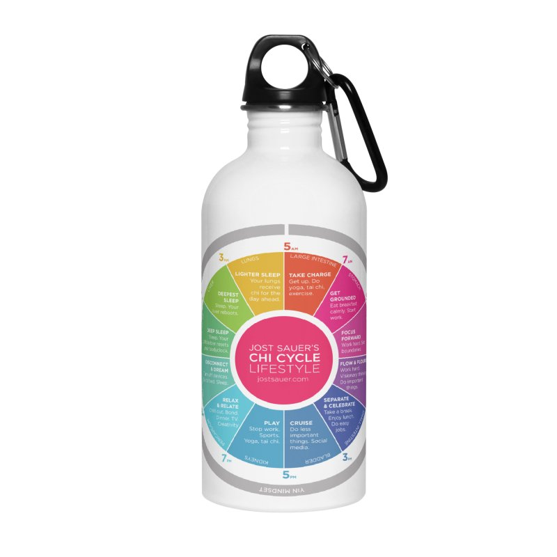 Chi Cycle Wheel Accessories Water Bottle by Jost Sauer Chi Cycle Lifestyle