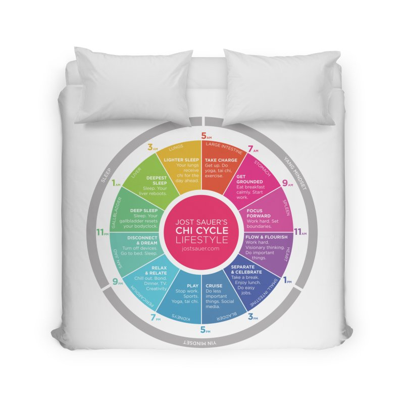 Chi Cycle Wheel Home Duvet by Jost Sauer Chi Cycle Lifestyle