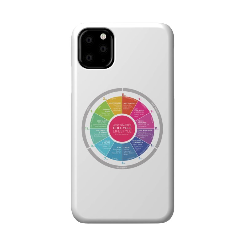 Chi Cycle Wheel Accessories Phone Case by Jost Sauer Chi Cycle Lifestyle