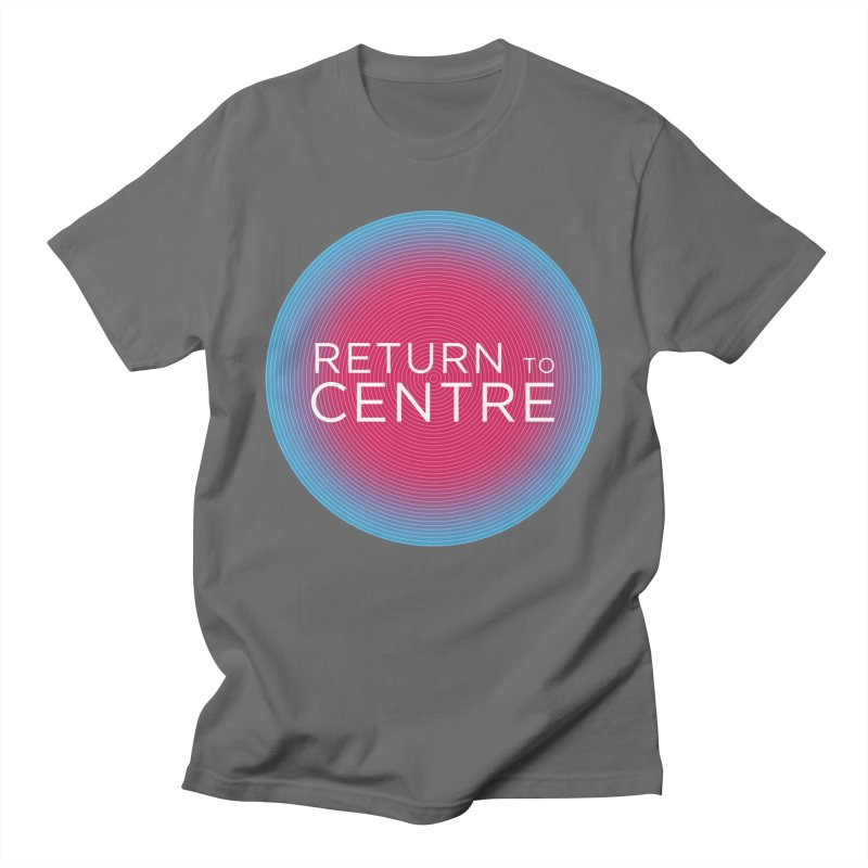Return to Centre Men's T-Shirt by Jost Sauer Chi Cycle Lifestyle