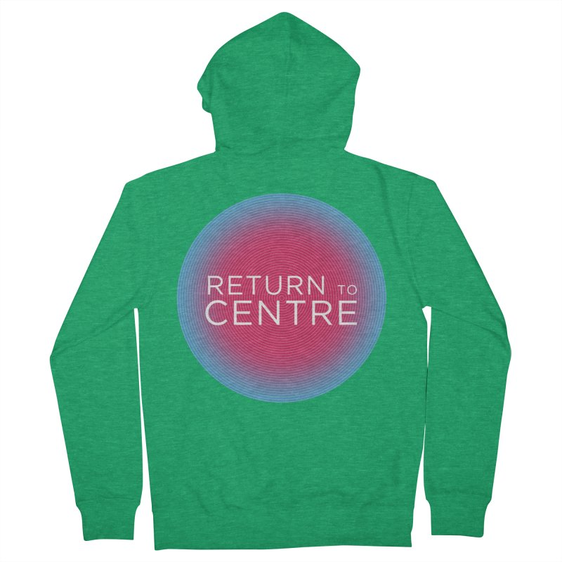 Return to Centre Women's Zip-Up Hoody by Jost Sauer Chi Cycle Lifestyle