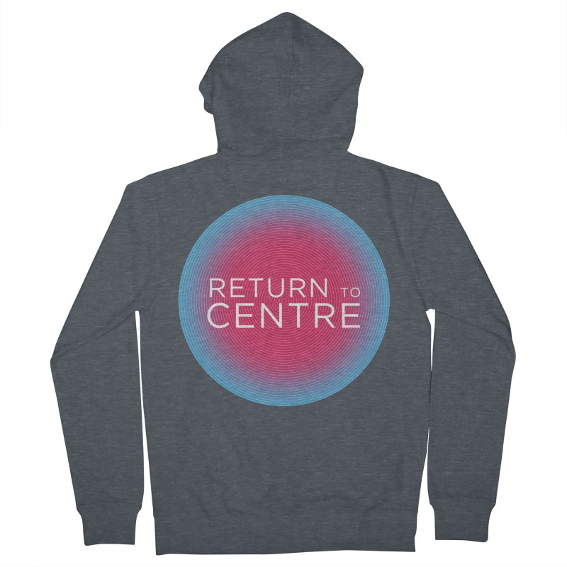 Return to Centre Women's French Terry Zip-Up Hoody by Jost Sauer Chi Cycle Lifestyle