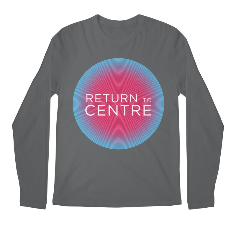 Return to Centre Men's Longsleeve T-Shirt by Jost Sauer Chi Cycle Lifestyle