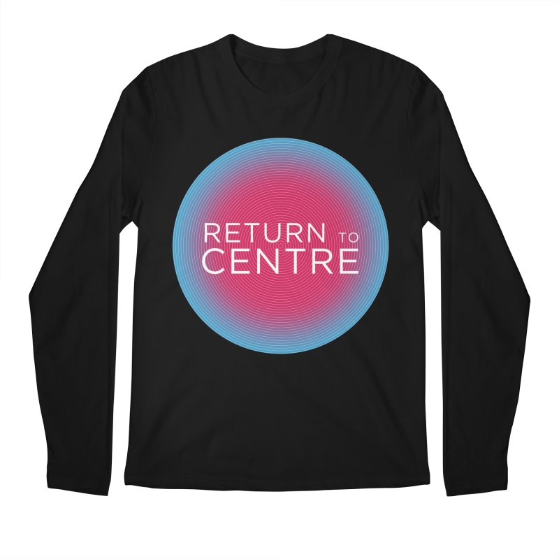 Return to Centre Men's Regular Longsleeve T-Shirt by Jost Sauer Chi Cycle Lifestyle