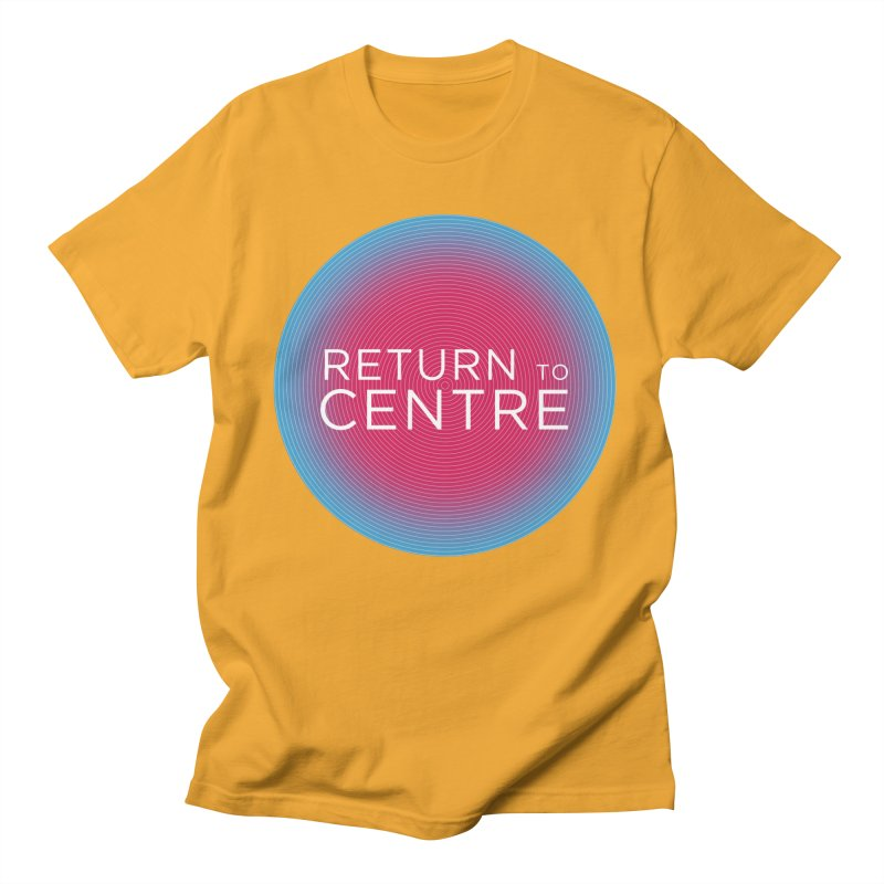 Return to Centre Men's Regular T-Shirt by Jost Sauer Chi Cycle Lifestyle
