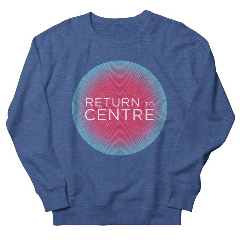 Return to Centre Men's Sweatshirt by Jost Sauer Chi Cycle Lifestyle