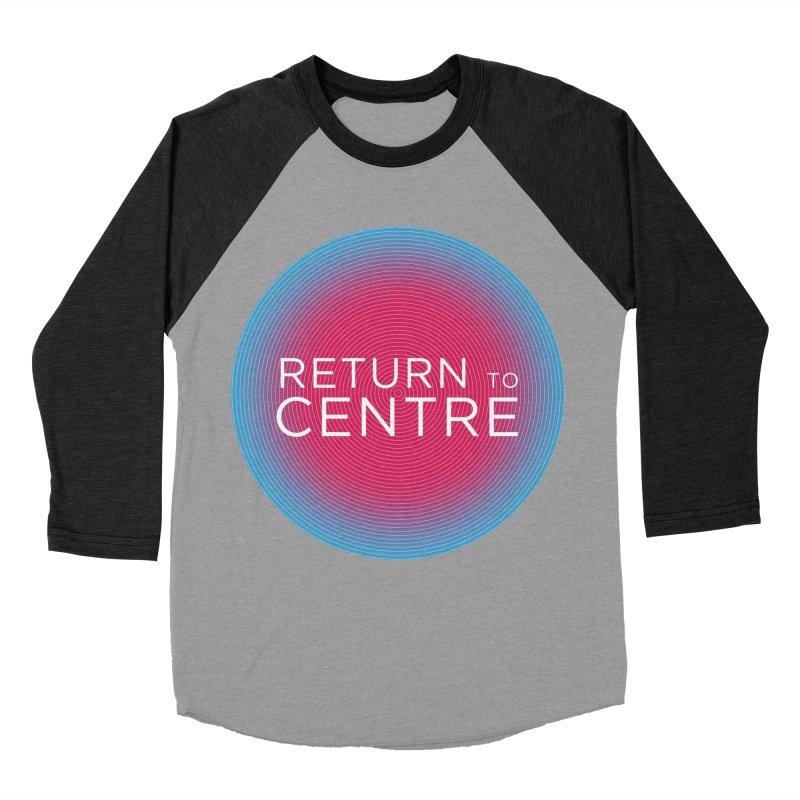 Return to Centre Women's Baseball Triblend Longsleeve T-Shirt by Jost Sauer Chi Cycle Lifestyle
