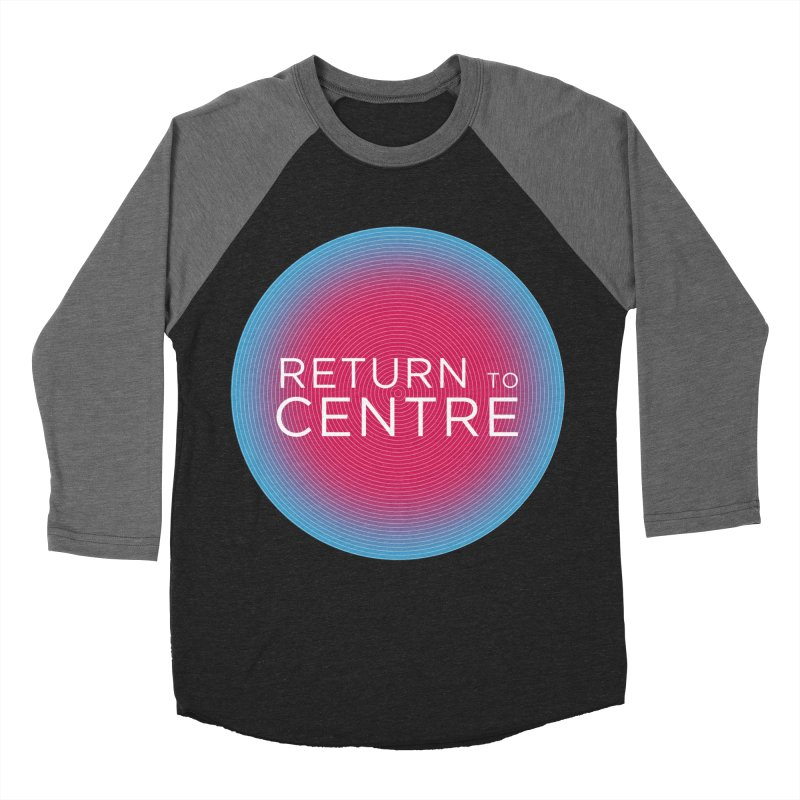 Return to Centre Men's Baseball Triblend Longsleeve T-Shirt by Jost Sauer Chi Cycle Lifestyle