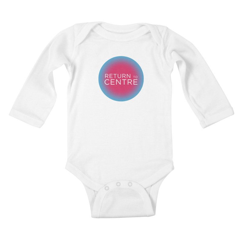 Return to Centre Kids Baby Longsleeve Bodysuit by Jost Sauer Chi Cycle Lifestyle